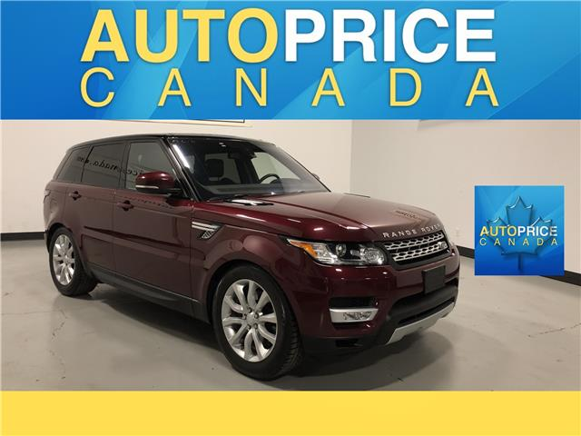 2016 Land Rover Range Rover Sport DIESEL Td6 HSE (Stk: W0512) in Mississauga - Image 1 of 27