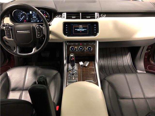 2016 Land Rover Range Rover Sport DIESEL Td6 HSE (Stk: W0512) in Mississauga - Image 9 of 27