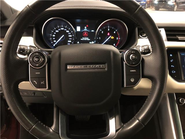 2016 Land Rover Range Rover Sport DIESEL Td6 HSE (Stk: W0512) in Mississauga - Image 10 of 27