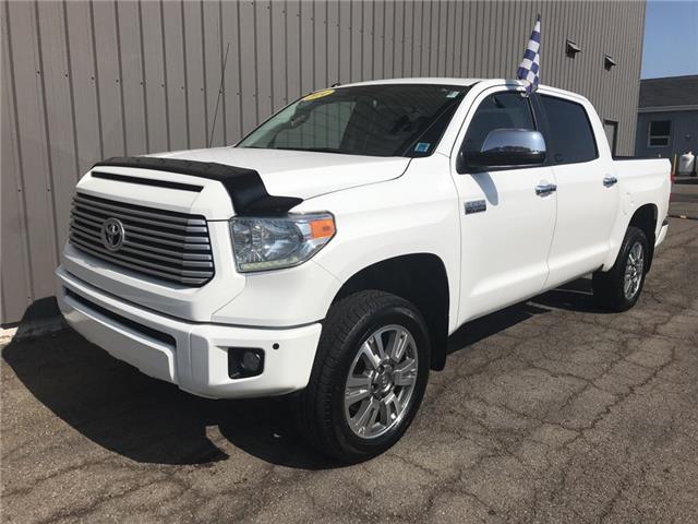 2014 Toyota Tundra Platinum 5.7L V8 (Stk: U3447) in Charlottetown - Image 1 of 24