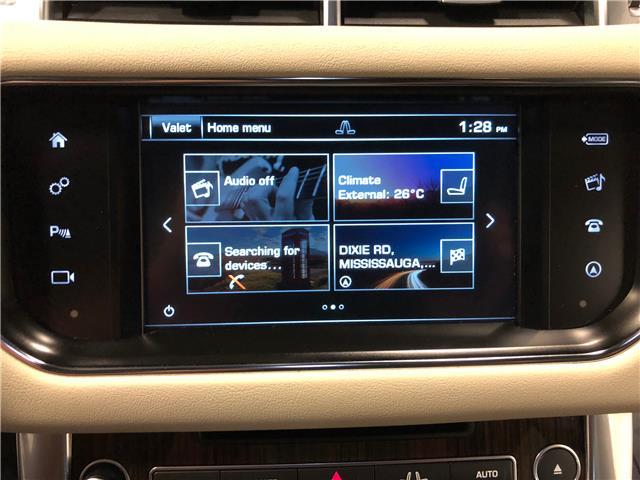 2016 Land Rover Range Rover Sport DIESEL Td6 HSE (Stk: W0512) in Mississauga - Image 17 of 27