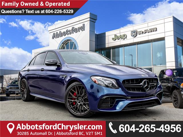 2018 Mercedes-Benz AMG E 63 S-Model (Stk: K835133A) in Abbotsford - Image 1 of 27