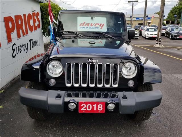 2018 Jeep Wrangler JK Unlimited Sahara (Stk: 19-543) in Oshawa - Image 2 of 13
