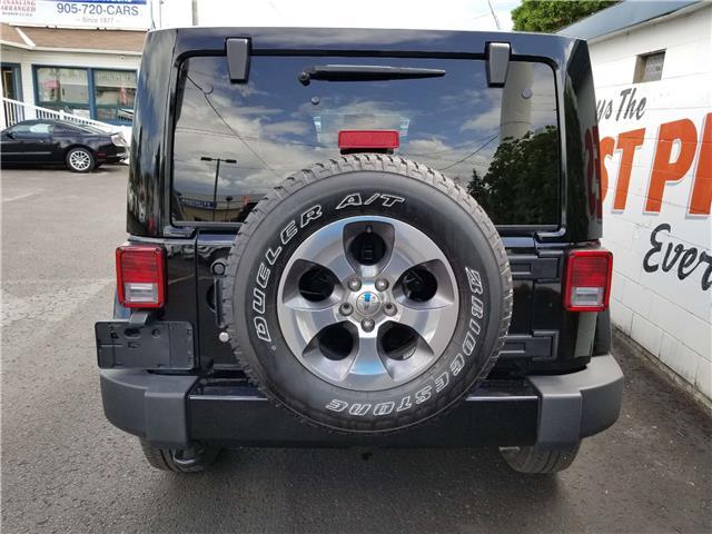 2018 Jeep Wrangler JK Unlimited Sahara (Stk: 19-543) in Oshawa - Image 6 of 13