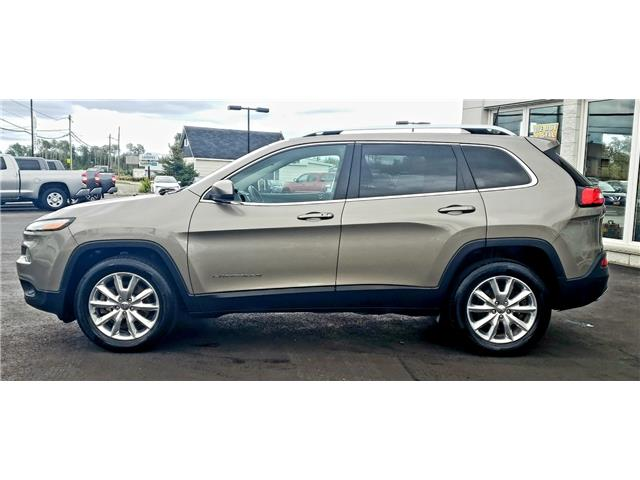 2016 Jeep Cherokee Limited (Stk: N19304A) in Timmins - Image 9 of 15