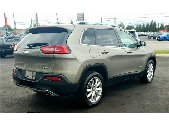 2016 Jeep Cherokee Limited (Stk: N19304A) in Timmins - Image 6 of 15