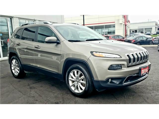 2016 Jeep Cherokee Limited (Stk: N19304A) in Timmins - Image 4 of 15
