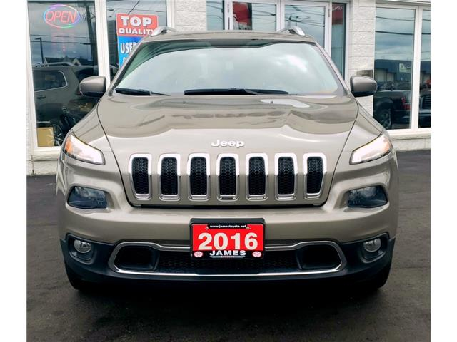2016 Jeep Cherokee Limited (Stk: N19304A) in Timmins - Image 3 of 15