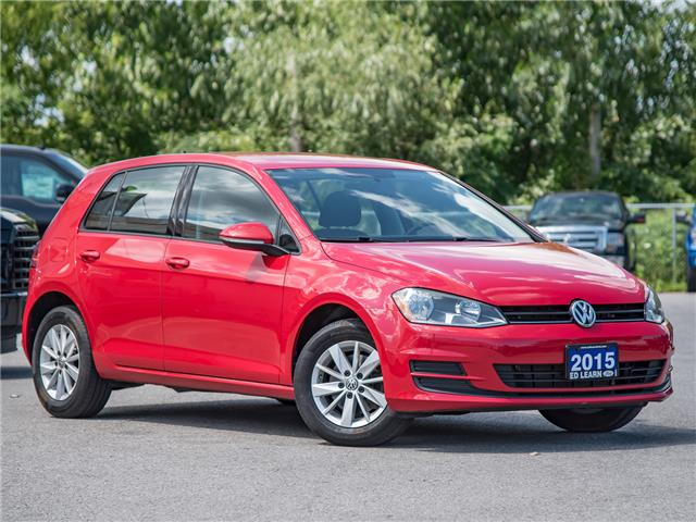 2015 Volkswagen Golf 1.8 TSI Comfortline (Stk: 19F1602T) in St. Catharines - Image 1 of 22