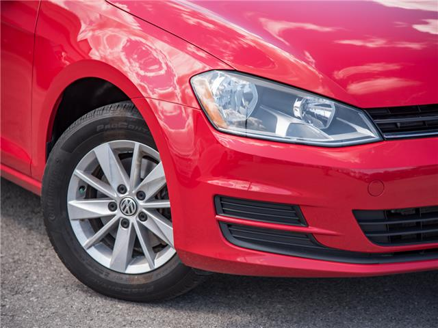 2015 Volkswagen Golf 1.8 TSI Comfortline (Stk: 19F1602T) in St. Catharines - Image 7 of 22