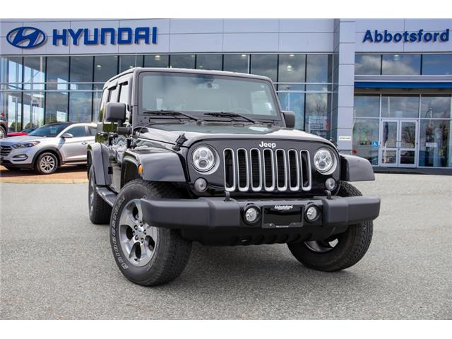 2017 Jeep Wrangler Unlimited Sahara (Stk: KF090602A) in Abbotsford - Image 1 of 26