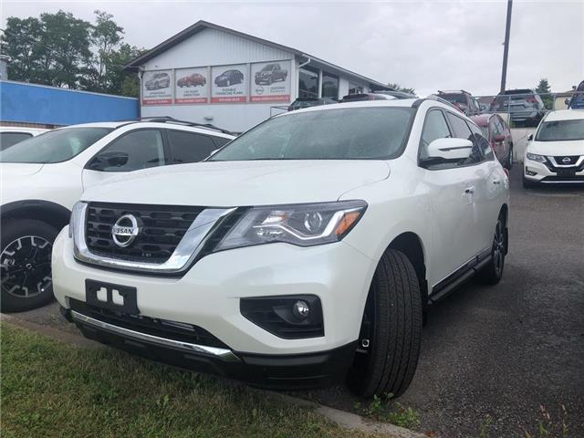 2019 Nissan Pathfinder Platinum (Stk: KC647680) in Whitby - Image 1 of 5