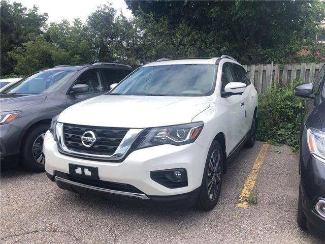 2019 Nissan Pathfinder Platinum (Stk: KC647632) in Whitby - Image 1 of 4
