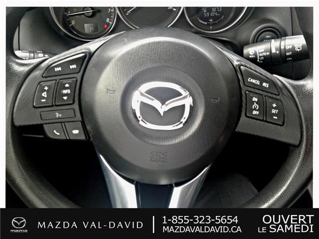 2016 Mazda CX-5 GS (Stk: 19422A) in Val-David - Image 17 of 25