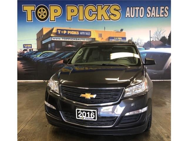 2016 Chevrolet Traverse LS (Stk: 143883) in NORTH BAY - Image 1 of 29