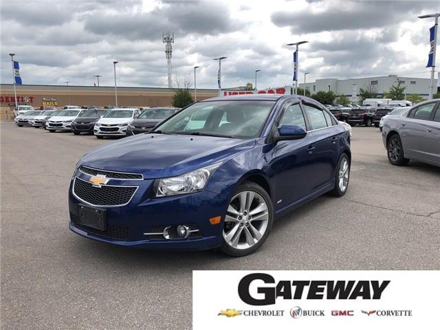 2012 Chevrolet Cruze RS|TWO SETS OF TIERS|SUNROOF|BLUETOOTH| (Stk: 212985C) in BRAMPTON - Image 1 of 15