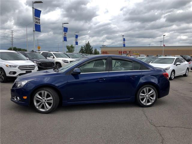 2012 Chevrolet Cruze RS|TWO SETS OF TIERS|SUNROOF|BLUETOOTH| (Stk: 212985C) in BRAMPTON - Image 2 of 15