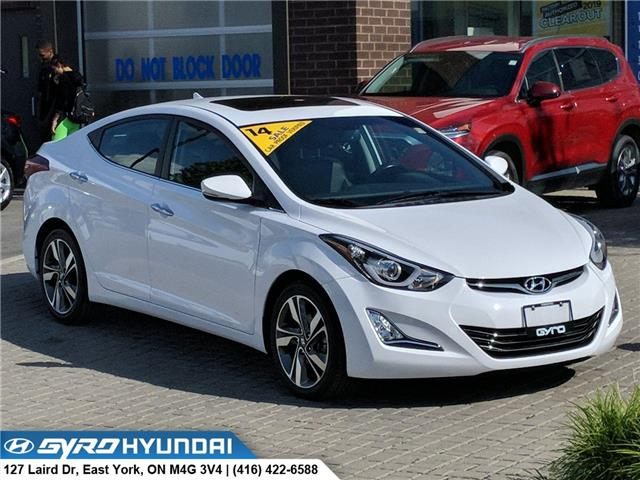 2014 Hyundai Elantra Limited (Stk: H5188) in Toronto - Image 1 of 29