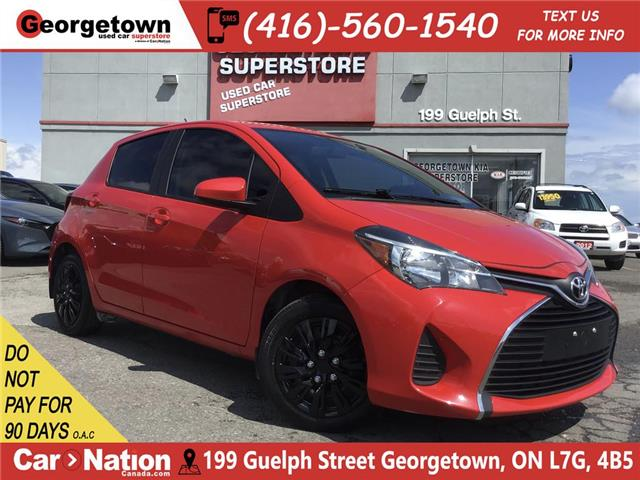 2016 Toyota Yaris LE |AUTO|CLEAN CARFAX|TINTS | AUX IN | PWR GRP (Stk: P12390) in Georgetown - Image 1 of 22