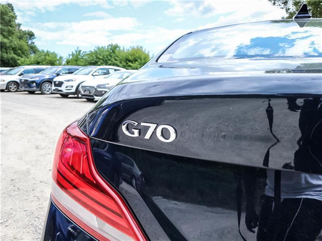 2019 Genesis G70 2.0T Advanced (Stk: GU0065) in Toronto - Image 16 of 26