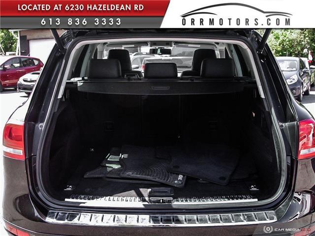 2011 Volkswagen Touareg 3.0 TDI Comfortline (Stk: 5834) in Stittsville - Image 10 of 29