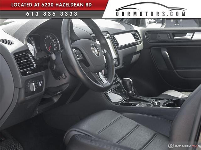 2011 Volkswagen Touareg 3.0 TDI Comfortline (Stk: 5834) in Stittsville - Image 13 of 29