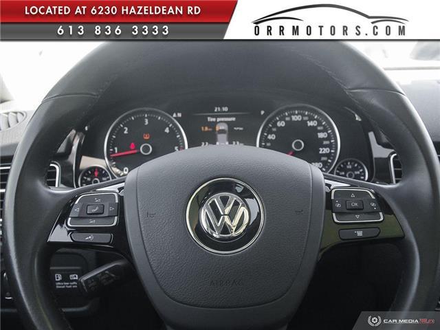 2011 Volkswagen Touareg 3.0 TDI Comfortline (Stk: 5834) in Stittsville - Image 14 of 29