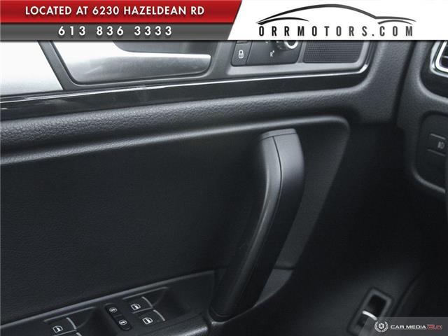 2011 Volkswagen Touareg 3.0 TDI Comfortline (Stk: 5834) in Stittsville - Image 17 of 29