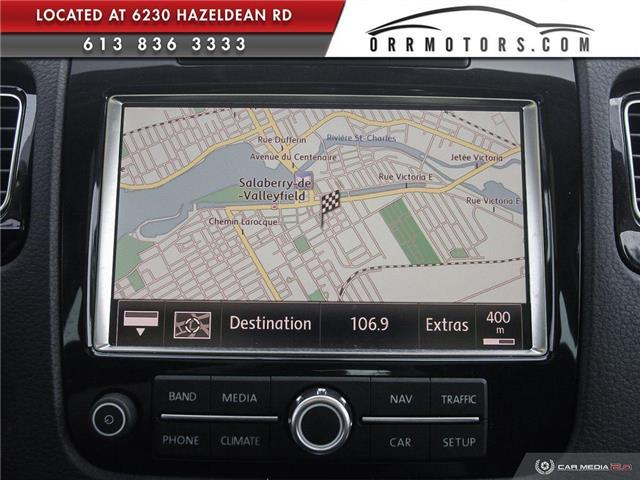 2011 Volkswagen Touareg 3.0 TDI Comfortline (Stk: 5834) in Stittsville - Image 21 of 29