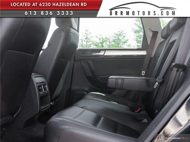 2011 Volkswagen Touareg 3.0 TDI Comfortline (Stk: 5834) in Stittsville - Image 24 of 29