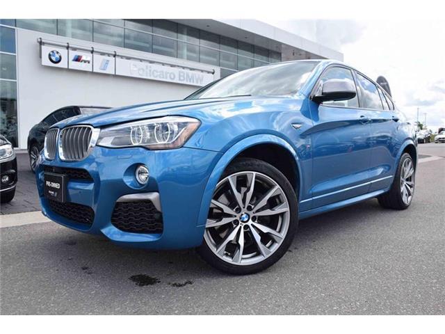 2017 BMW X4 M40i (Stk: U25095P) in Brampton - Image 1 of 18