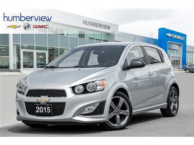 2015 Chevrolet Sonic RS Manual (Stk: 171682DP) in Toronto - Image 1 of 19
