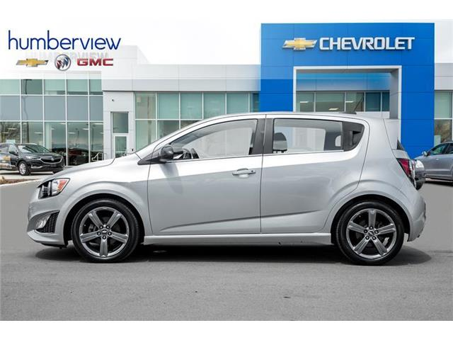 2015 Chevrolet Sonic RS Manual (Stk: 171682DP) in Toronto - Image 3 of 19
