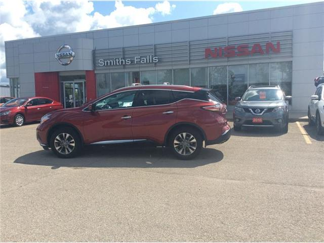 2016 Nissan Murano SL (Stk: P2005) in Smiths Falls - Image 1 of 13