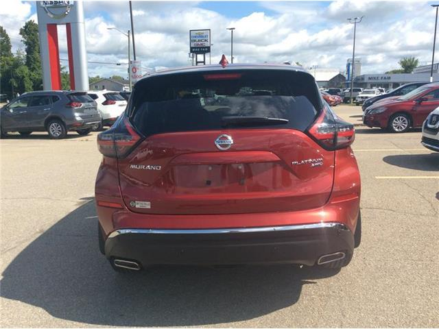 2019 Nissan Murano Platinum (Stk: P2007) in Smiths Falls - Image 4 of 13