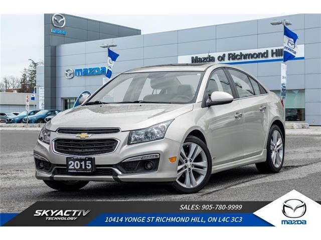 2015 Chevrolet Cruze LTZ (Stk: 19-633DTA) in Richmond Hill - Image 1 of 19