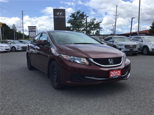 2013 Honda Civic EX (Stk: P3356) in Ottawa - Image 1 of 10