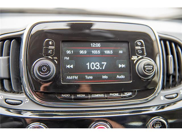 2016 Fiat 500 Pop (Stk: LF009740BB) in Surrey - Image 16 of 20