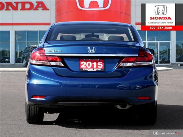 2015 Honda Civic EX (Stk: 20066A) in Cambridge - Image 5 of 27