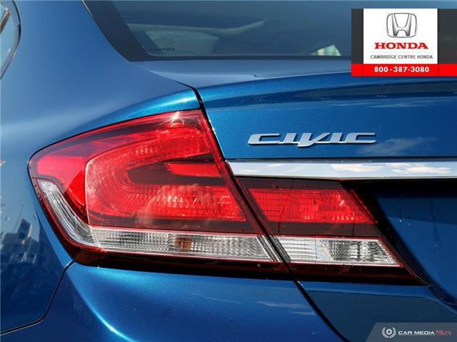 2015 Honda Civic EX (Stk: 20066A) in Cambridge - Image 12 of 27