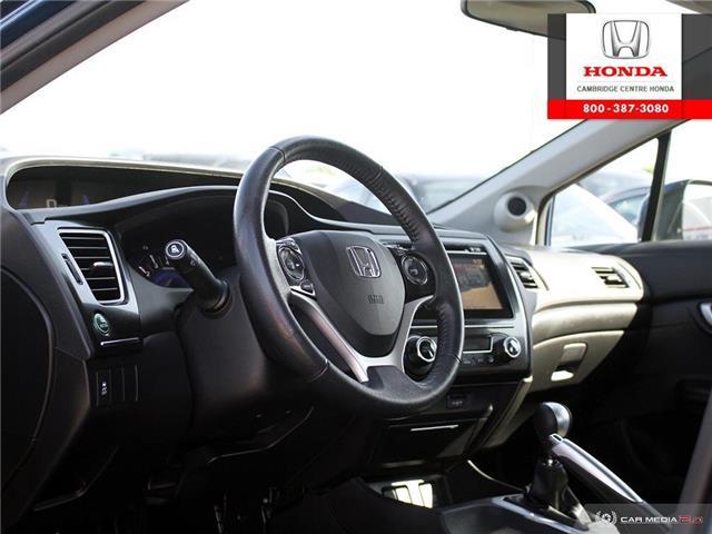 2015 Honda Civic EX (Stk: 20066A) in Cambridge - Image 13 of 27