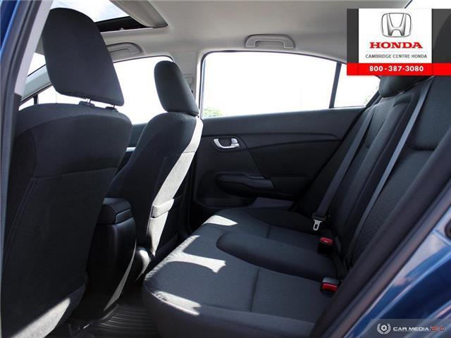 2015 Honda Civic EX (Stk: 20066A) in Cambridge - Image 26 of 27