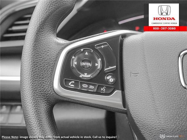 2019 Honda Civic LX (Stk: 20156) in Cambridge - Image 16 of 24