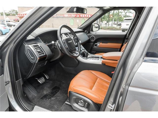 2016 Land Rover Range Rover Sport V8 Supercharged (Stk: 19HMS478) in Mississauga - Image 8 of 23