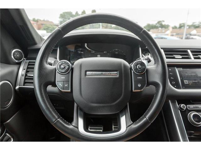 2016 Land Rover Range Rover Sport V8 Supercharged (Stk: 19HMS478) in Mississauga - Image 9 of 23