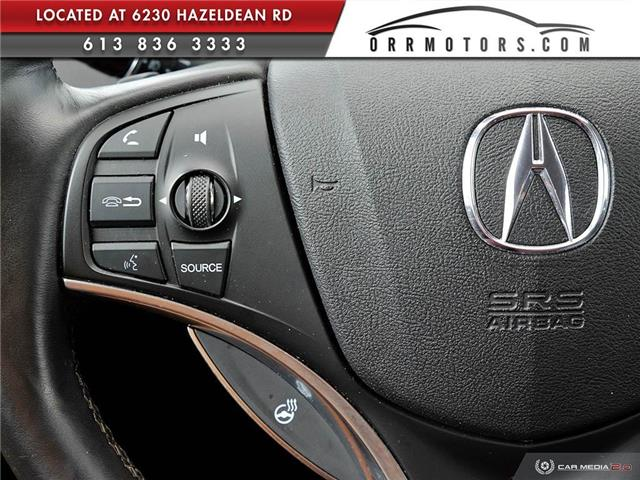 2017 Acura MDX Base (Stk: 5848T) in Stittsville - Image 16 of 25