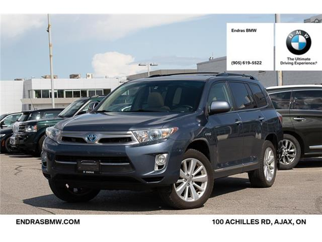 2013 Toyota Highlander Hybrid Base (Stk: 35350A) in Ajax - Image 1 of 21