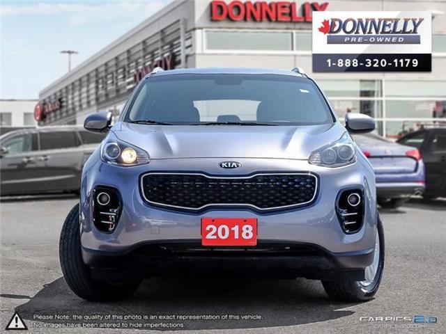 2018 Kia Sportage LX (Stk: CLKUR2286) in Kanata - Image 2 of 27