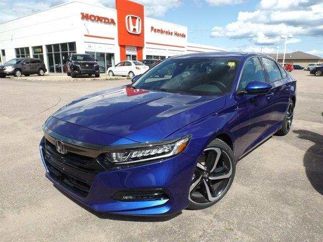 2019 Honda Accord Sport 1.5T (Stk: 19133) in Pembroke - Image 1 of 23