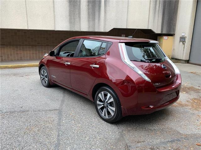 2016 Nissan LEAF SV (Stk: B24410A) in Vancouver - Image 7 of 23